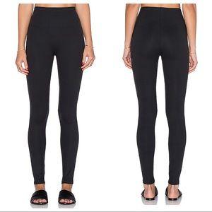 SPANX black essential legging size large